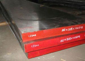 1.2344 H13 SKD61 acero para herramientas plano