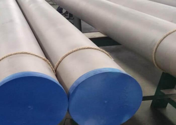 Tubería de acero inoxidable a dos caras de ASTM A790 UNS S31803 S32750 S32760