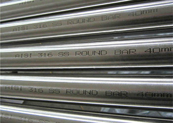 Barra redonda de acero inoxidable ASTM A276 AISI 316