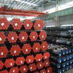 API 5L, API 5CT, ASTM A106 / A53, DIN 2391, EN10305, EN10210 Tubería de acero sin costura de aleación de carbono