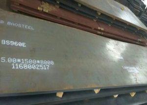 Placa de acero de alta resistencia 960