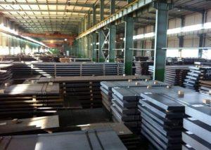 S355JR Placa de acero de baja aleación EN10025
