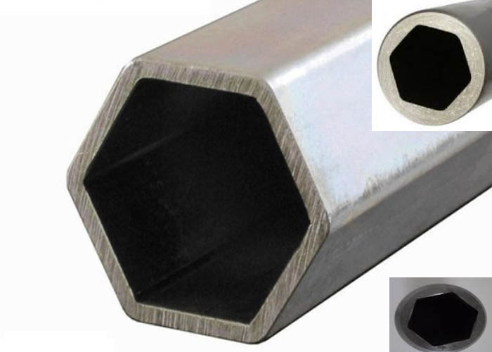 201/202/301 / 409L / 416 Tubería / tubo hexagonal de acero inoxidable