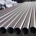 Tubo de acero inoxidable soldado EN10312 para agua potable